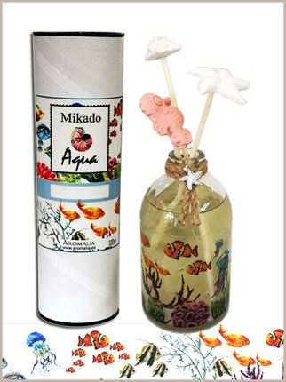 Mikado  50 ml. Aqua - Decoración marinera - fragáncias ;