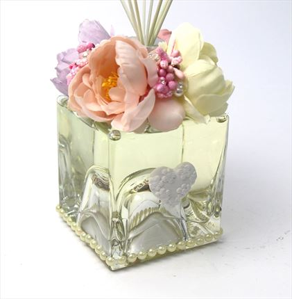 MIkado Flower 250 ml. - Decoración floral y strass .- Fragancias a elegir .